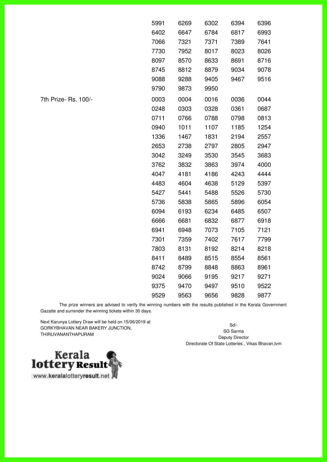 Karunya LOTTERY NO. KR-399th DRAW held on 08.06.2019-page-002