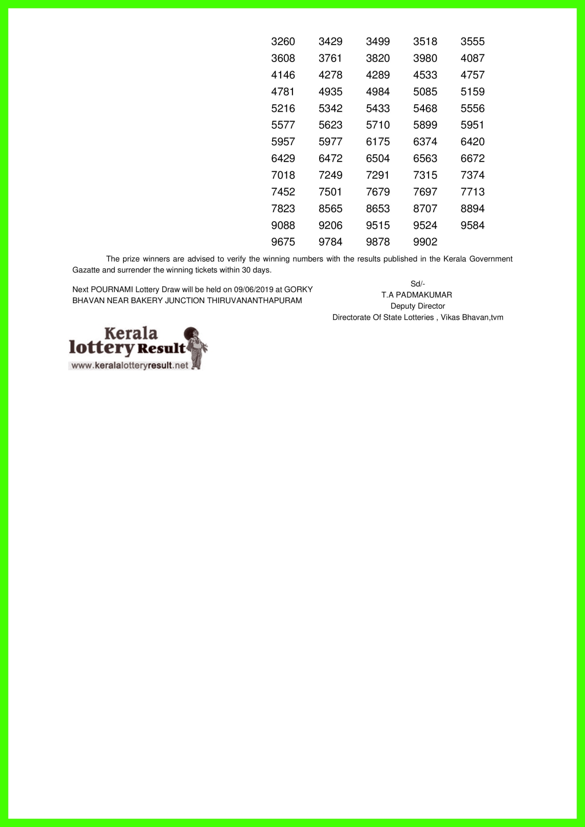 POURNAMI LOTTERY NO. RN-394th DRAW held on 02.06.2019-page-002